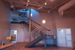 Infinity Machine custom railing/stairs